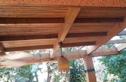 פרגולה מעץ